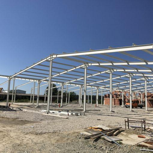 Gradilište nove hale Grad-Exporta