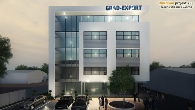 Nova upravna zgrada tvrtke Grad-Export d.o.o.