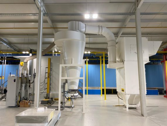 Nova linija za plastifikaciju aluminija